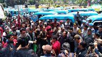 Hari Pertama Kerja, Wali Kota Malang Dikado Demonstrasi