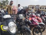 144 Motor Hasil Curian di Banten Dikembalikan ke Pemiliknya