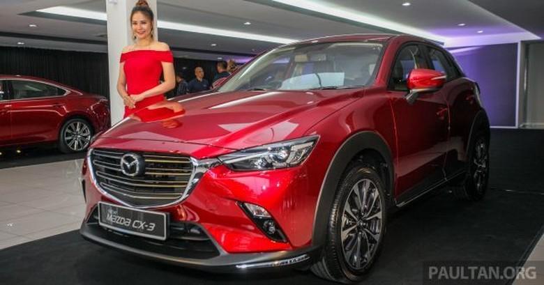 Mazda Cx 3 Release Date >> Mazda Bakal Buat Cx 3 Lebih Besar Jadi Mirip Honda Hr V
