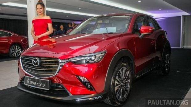 Mazda CX-3 calon pesaing Hyundai Kona