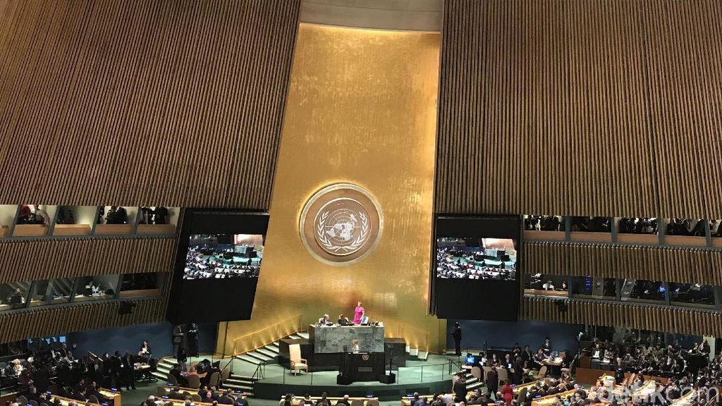 JK Hadiri Pembukaan Sidang Umum PBB ke-73