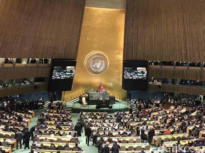 Ilustrasi sidang PBB (Foto: dok. detikcom)