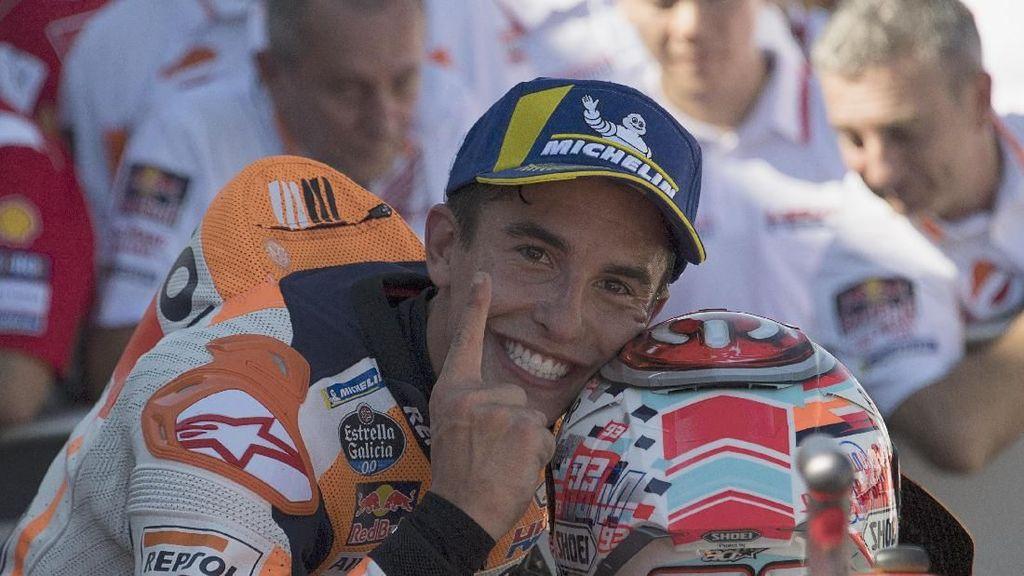 Marquez ke Dovizioso: Aku Belum Juara Kok!