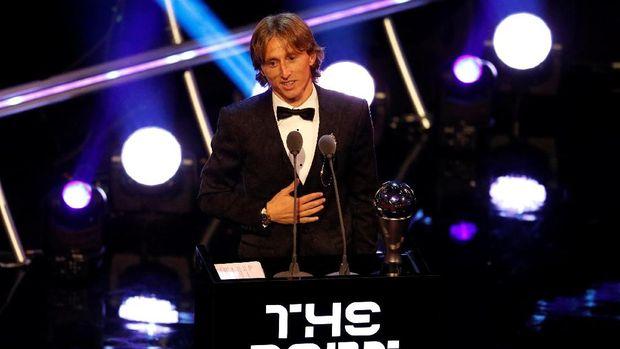 Luka Modric terpilih sebagi 'Best