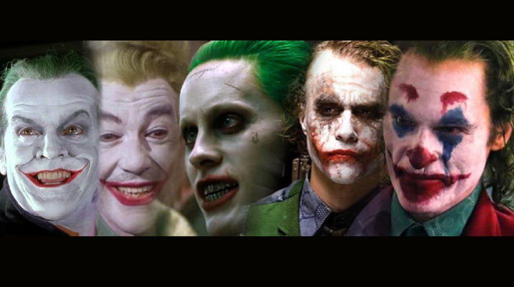 Potret Joker: Penjahat Terbaik Tanpa Perasaan dari Masa ke Masa