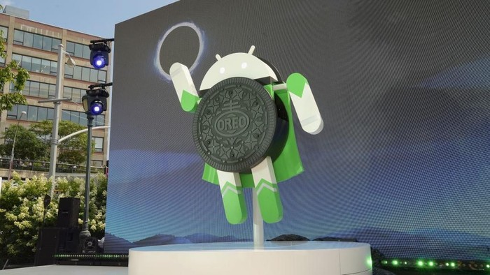 Ilustrasi Android Foto: Jason Kempin/Getty Images