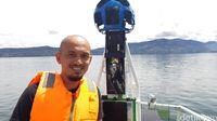 Tantangan Google Street View Jelajahi Danau Toba