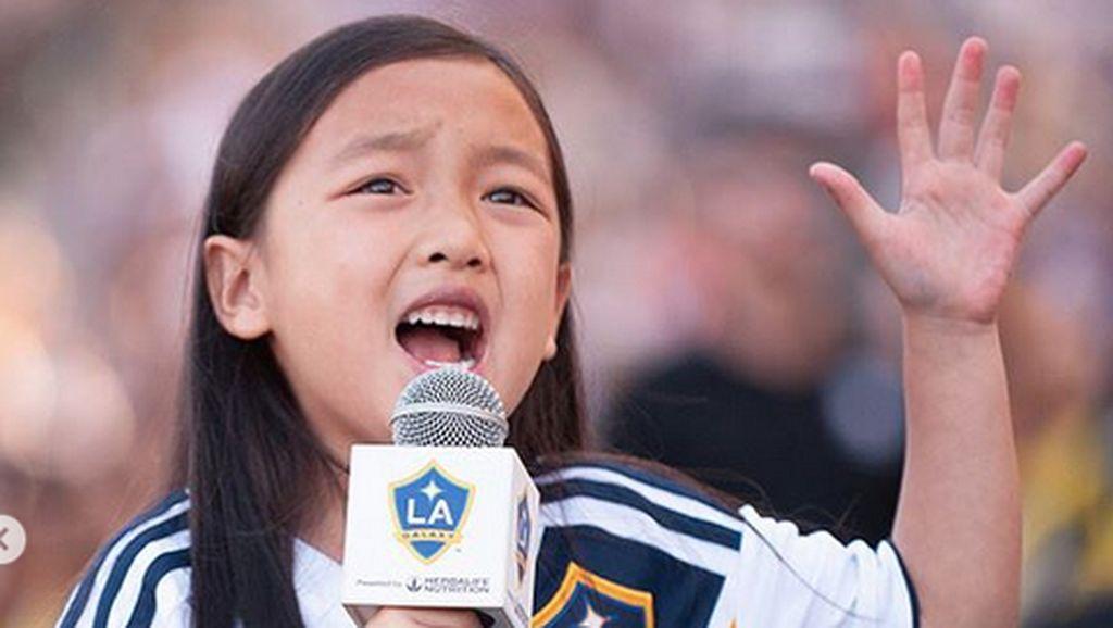 Sebelum Pukau Ibrahimovic, Malea Curi Perhatian di Hollywood Bowl