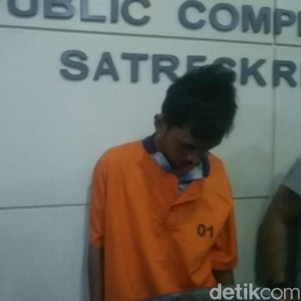 Buron Pembantai Istri di Makassar Menyerahkan Diri ke Polisi