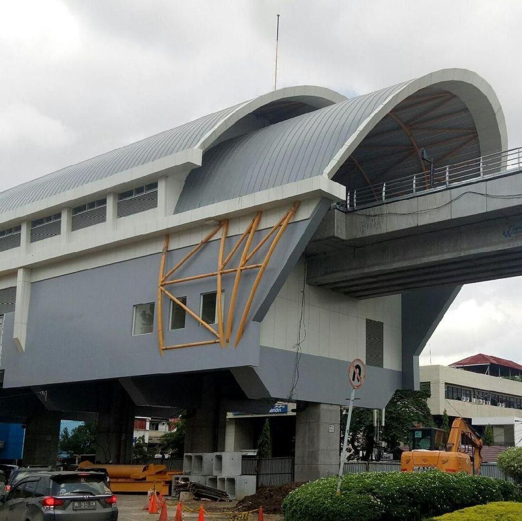 Seluruh Stasiun LRT Palembang bakal Beroperasi Bulan ini