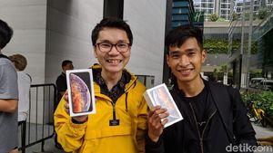 iPhone XS Max Paling Diburu di Singapura