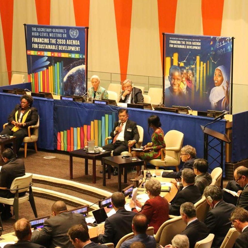 Di Forum PBB, JK Ungkap 5 Strategi Ciptakan Iklim Ekonomi Kondusif