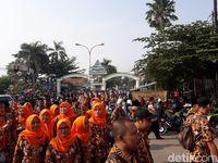 Ada Pawai Taaruf MTQ, Jl Pekayon Bekasi Ditutup