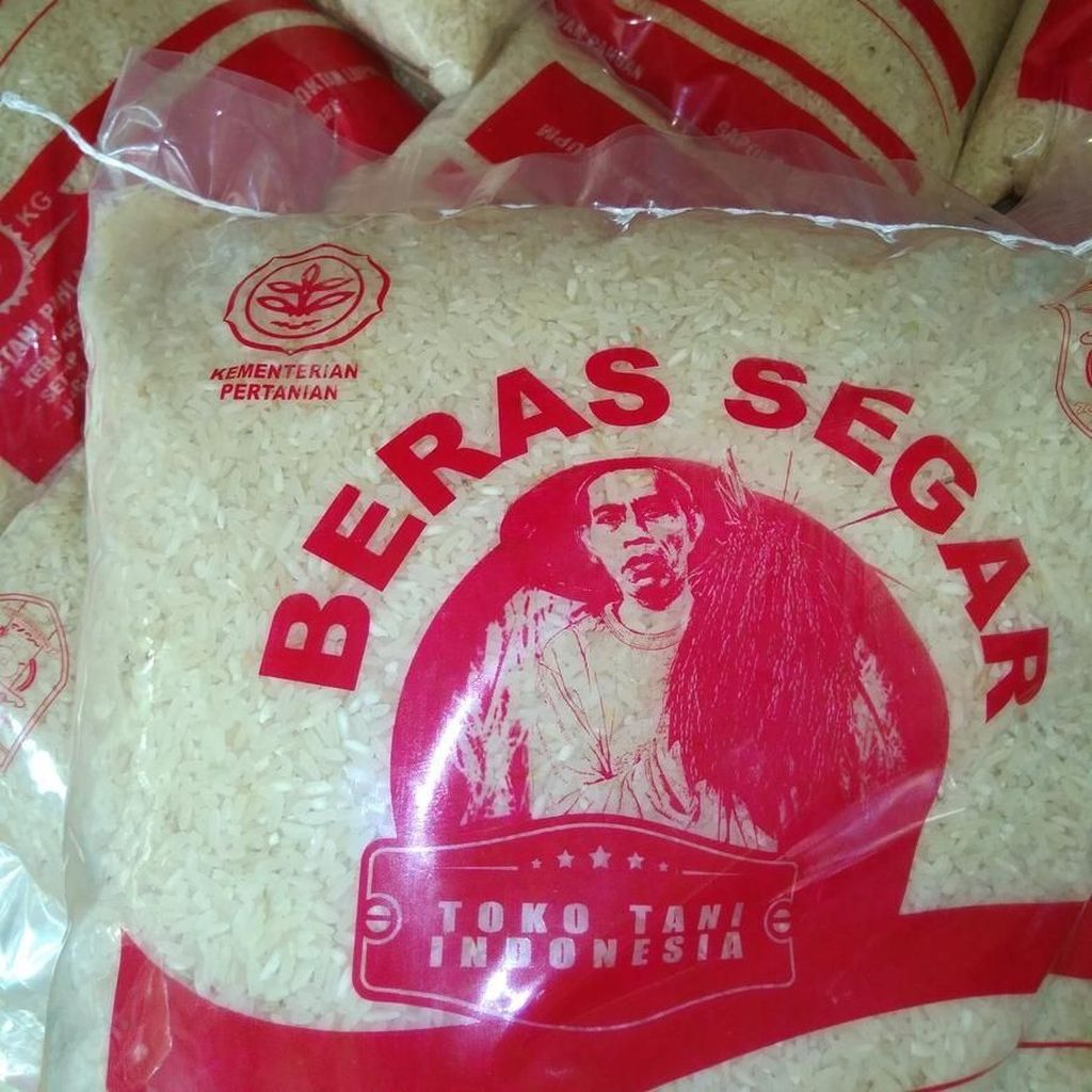 Viral Bungkus Beras Kementan Bergambar Jokowi, Ternyata Cuma Mirip