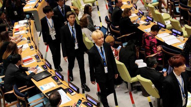 Trauma Masa Kecil Jadi Tema Pidato BTS di Sidang PBB