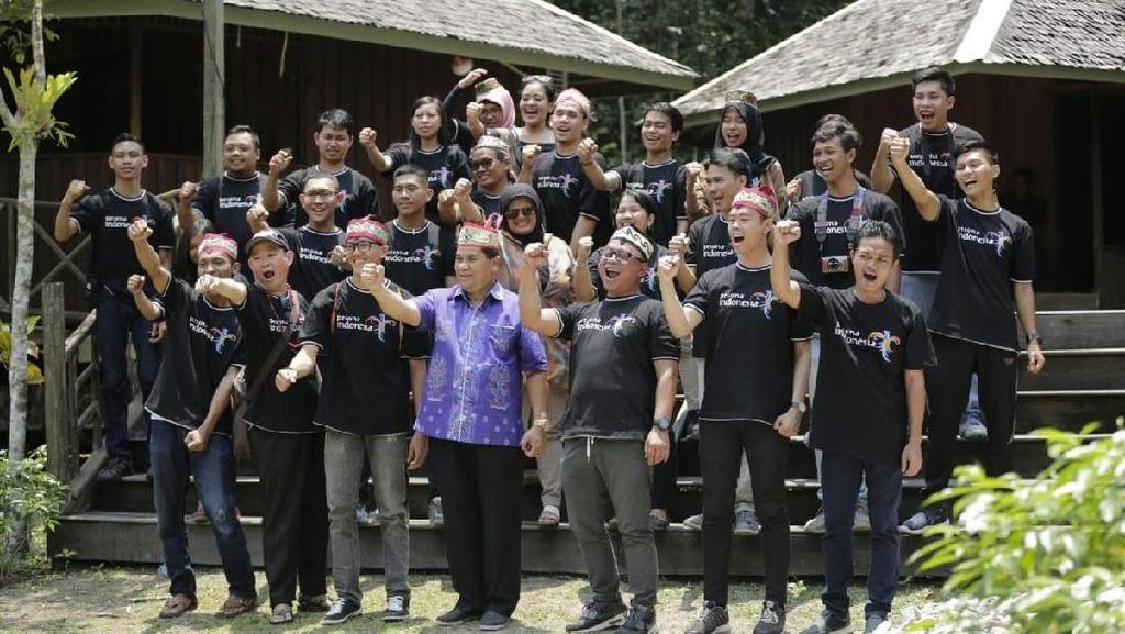 Menpar Harap GenPI Kalteng Motivasi Daerah Lain