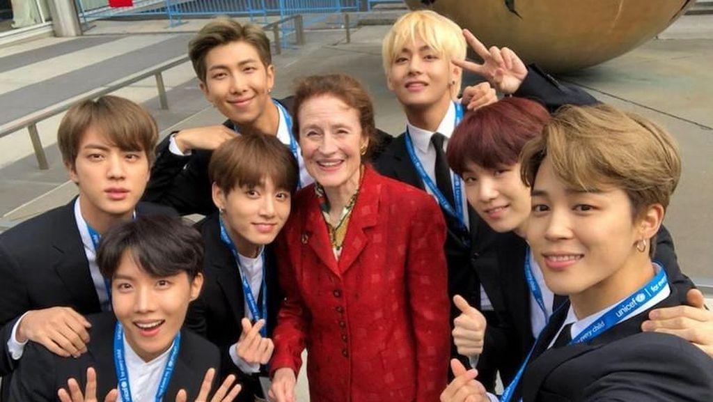 Pesan Penuh Cinta BTS dalam Pidato PBB Mereka