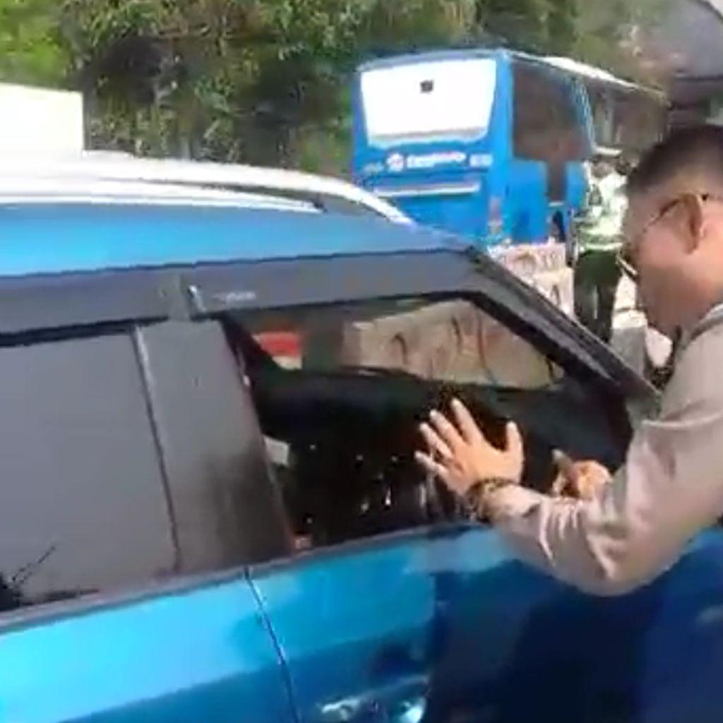 Video: Wanita Penerobos Konvoi Jokowi Kini Jadi Tersangka