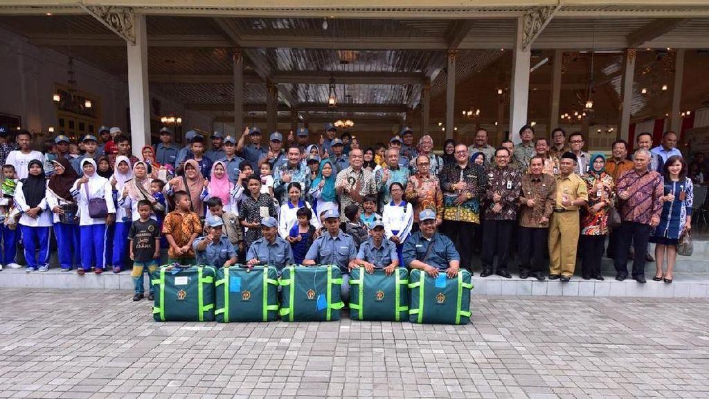 Kemendes Lepas 72 Calon Transmigran Asal Yogyakarta ke Kaltara