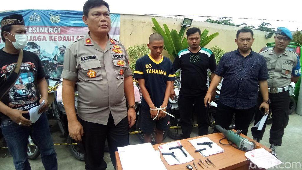 Polisi Tangkap Komplotan Curanmor di Bojonggede, 15 Motor Disita