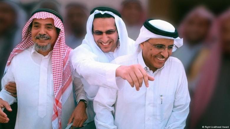 3 Aktivis HAM Arab Saudi Raih Penghargaan Nobel Alternatif