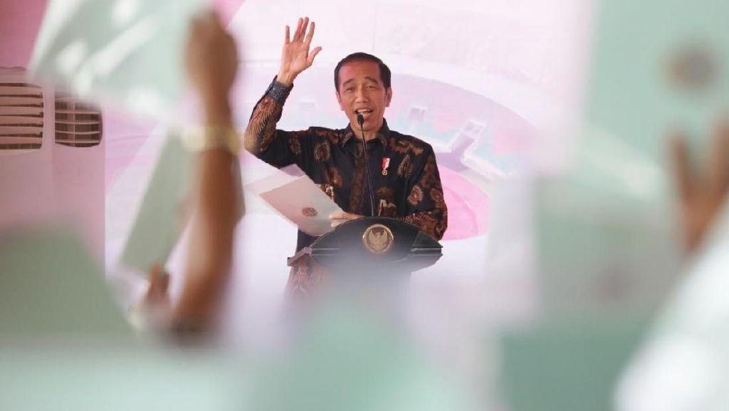 Jokowi Sebar 6 Juta Sertifikat Tanah hingga Oktober Tahun Ini