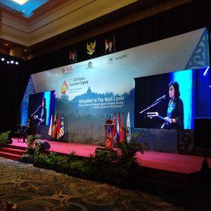 Buka Kongres Penilai se-ASEAN, Ini Pesan Sri Mulyani