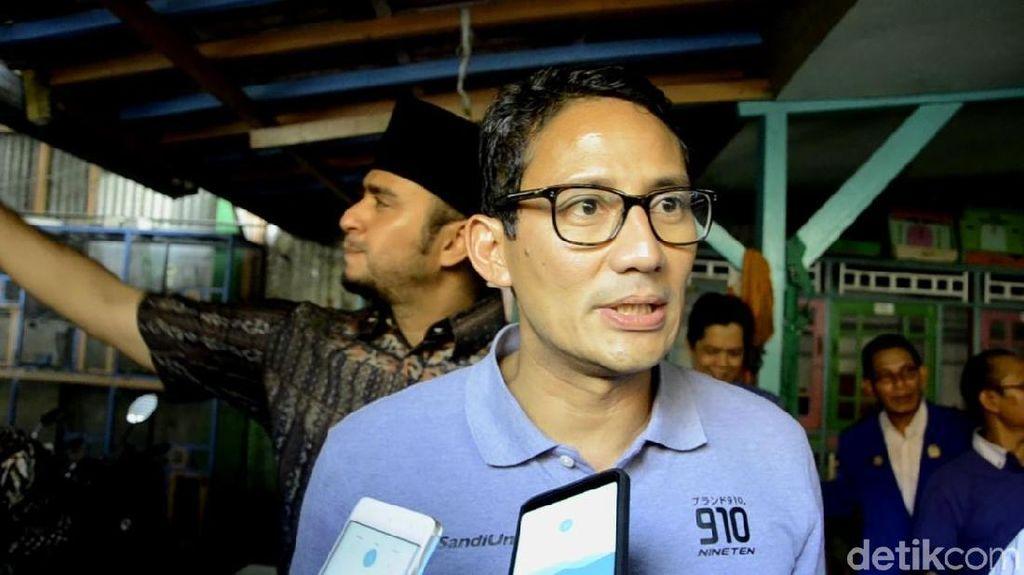 Video: Jawaban Sandiaga soal Situs Skandal Selingkuh
