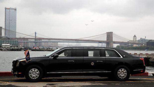 EMB-Limousine Terbaru Donald Trump