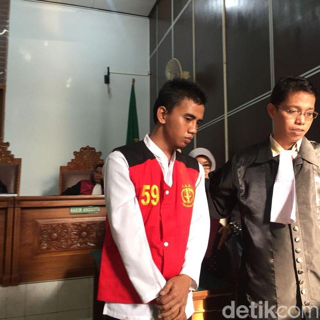 Pembunuh Pensiunan TNI AL Divonis 12 Tahun Penjara