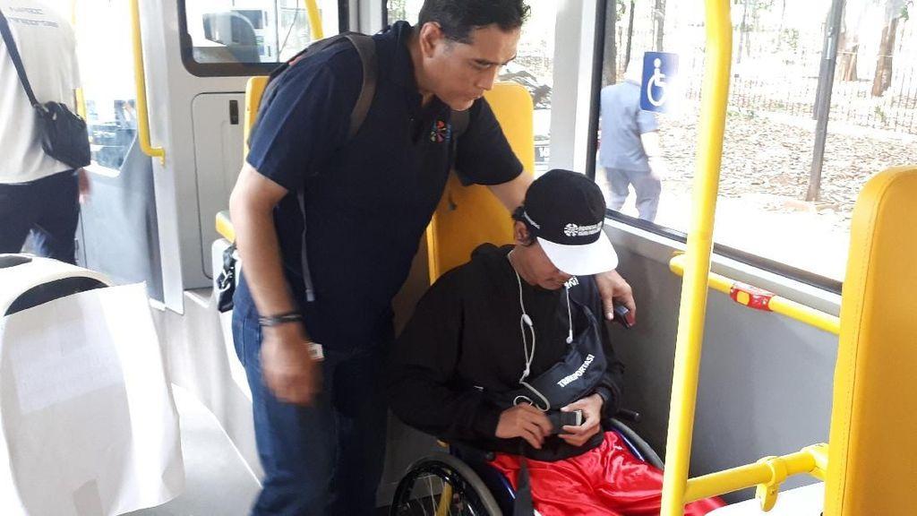 Simulasi Transportasi Atlet Asian Para Games Puaskan INAPGOC
