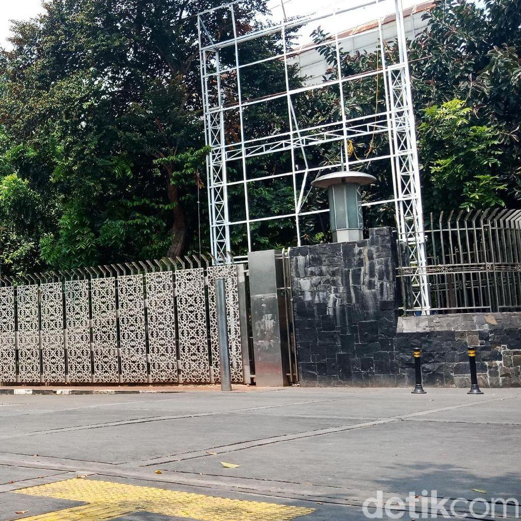 Viral, Ini Alasan Pagar Istiqlal di Juanda Ditutup Saat Akhir Pekan