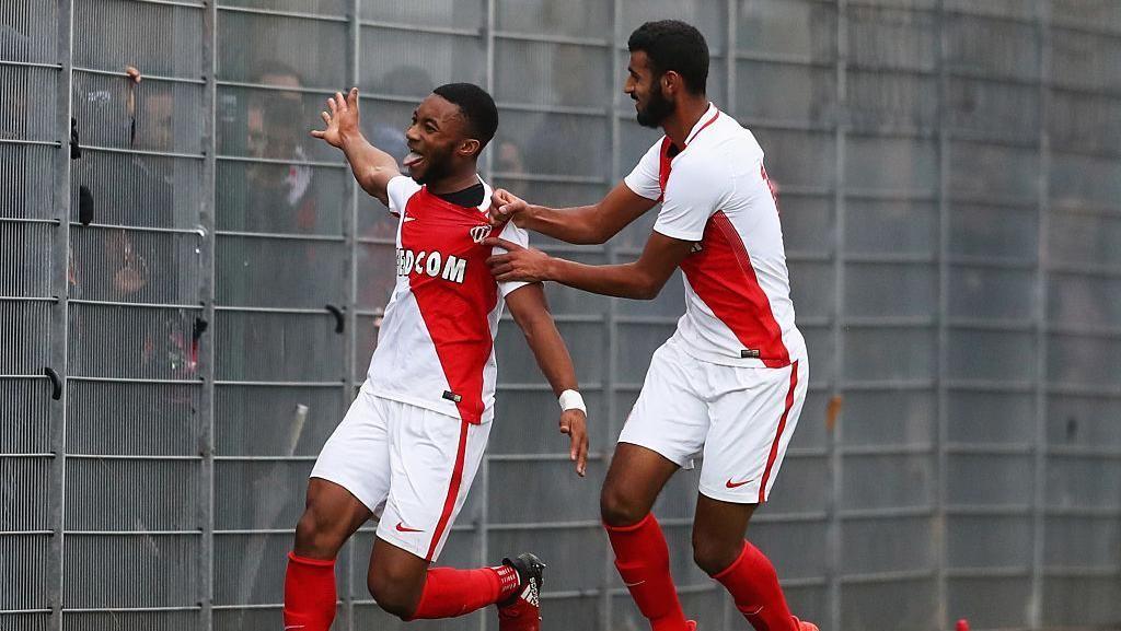 Moussa Sylla (striker) dari AS Monaco punya rating rata-rata 65 dan potensi pertambahan rating 19 poin (jadi 84). (Foto:Michael Steele/Getty Images)
