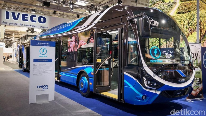 Bus listrik Crealis (Foto: Iveco)