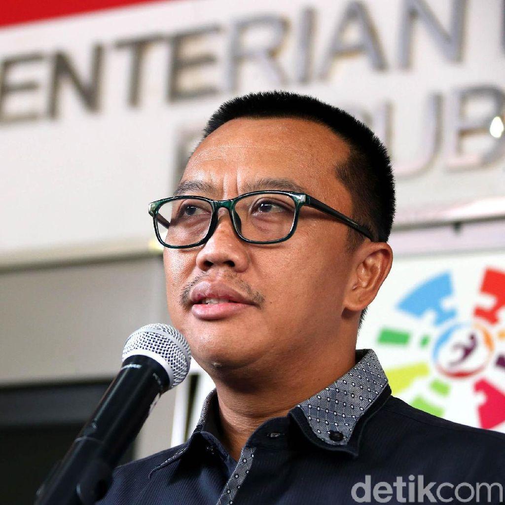 Pejabat Kena OTT KPK, Menpora Minta Maaf ke Rakyat dan Presiden