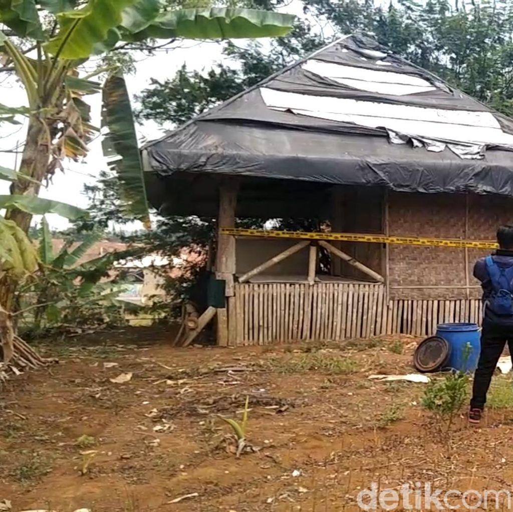 Ini Gubuk Tempat Predator Anak di Sukabumi Sekap Korban