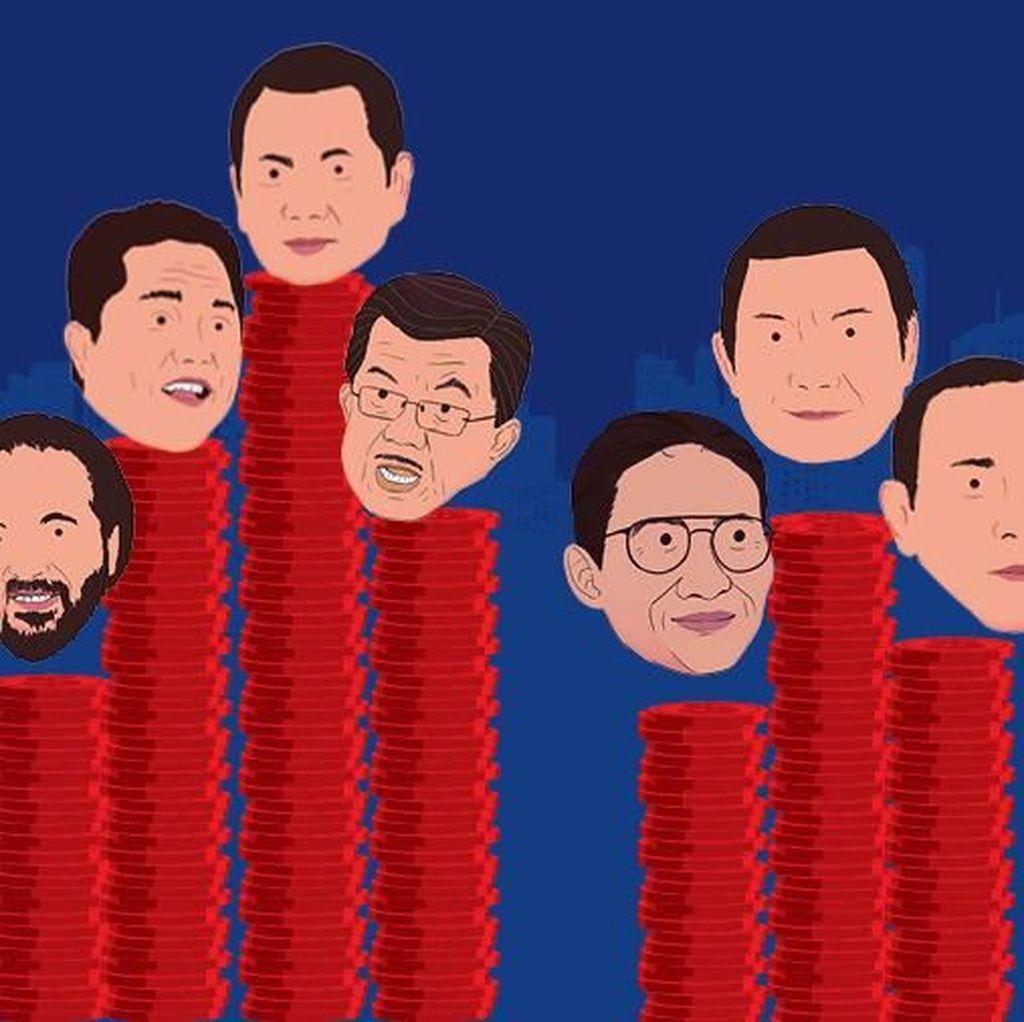 Para Pengusaha Tajir Penyokong Jokowi-Amin dan Prabowo-Sandi