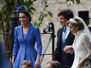 Kate Middleton Pakai Baju Lama di Pernikahan Sahabat Agar Tak Curi Perhatian