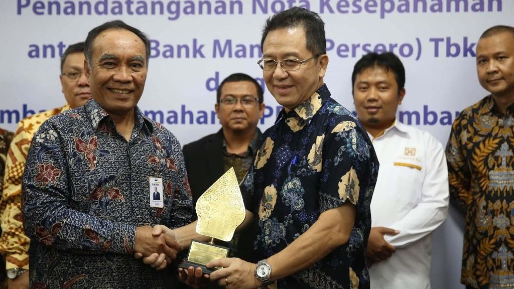 Bank Mandiri Bangun Rumah Sederhana untuk MBR
