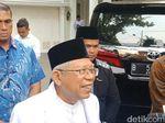 Maruf Amin Semringah Dapat Dukungan Yenny Wahid