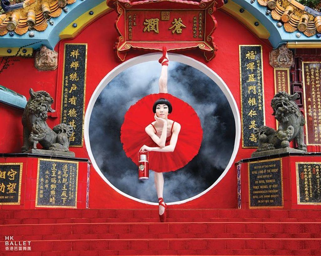 Hong Kong Ballet tengah membuat kampanye untuk musim 2018/19. Foto: Dean Alexander