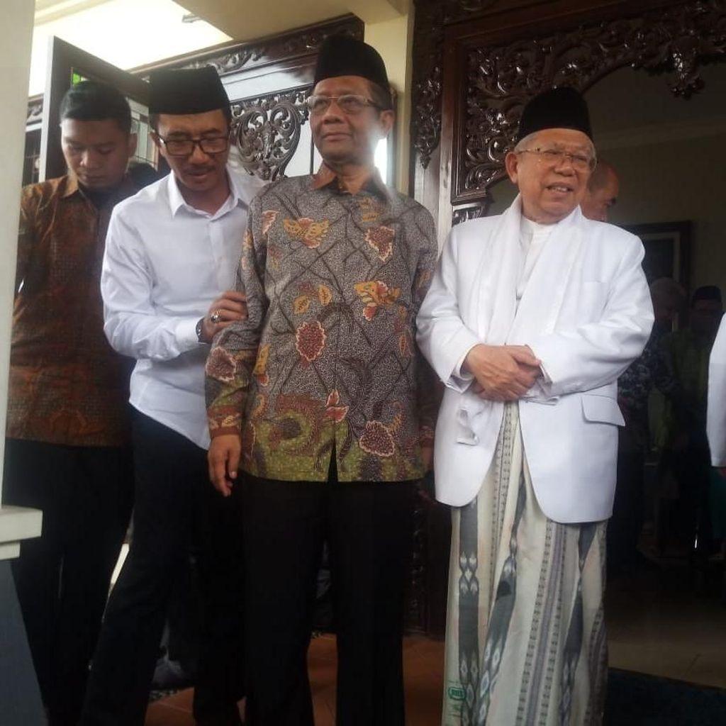 Bertemu Maruf, Mahfud Md: Tak Ada Lagi NU Kultural-NU Struktural
