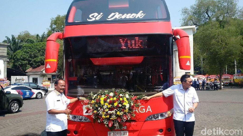 Perkenalkan, Si Denok yang Siap Antar Keliling Kota Semarang Gratis