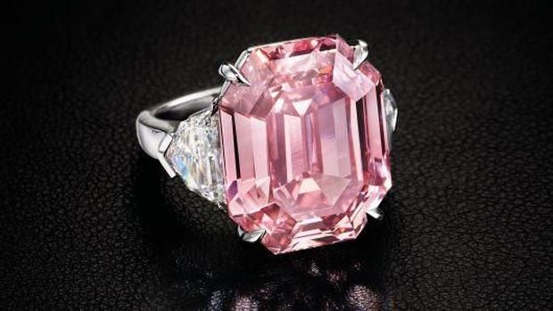 Ini 'The Pink Legacy', Cincin Berlian Cantik Senilai Rp746 M