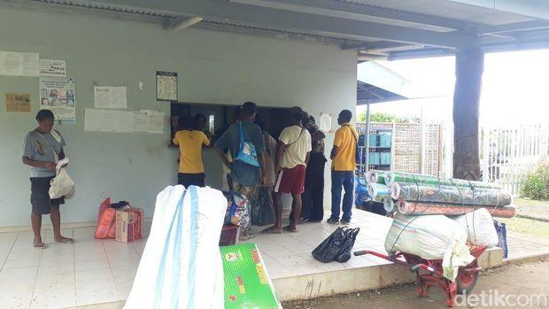 Pemeriksaan di Pos Papua Nugini