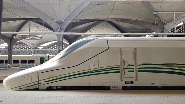 Sekilas mengenai kereta cepat Haramain, kereta beroperasi melalui jalur sejauh 450 kilometer dengan kecepatan 300 kilometer per jam. Salah satu kota yang disinggahi pada rute kereta tersebut adalah Jeddah.