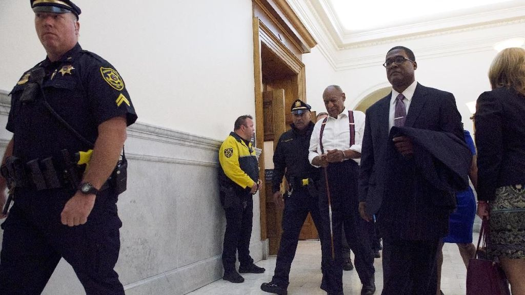 Tok! Kasus Pencabulan yang Menyeret Bill Cosby Capai Babak Akhir