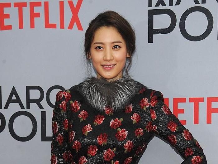 Claudia Kim, aktris Korea Selatan memerankan Nagini