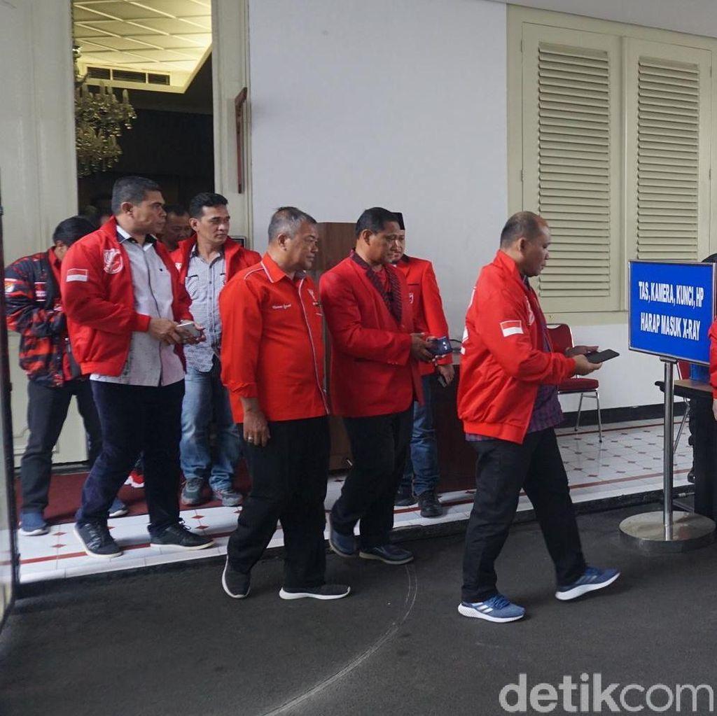 Pengurus PKPI Temui Jokowi di Istana