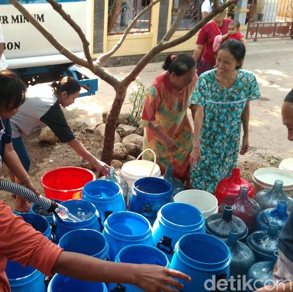 12 Kecamatan di Cirebon Krisis Air Bersih
